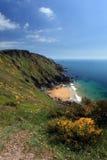 The South West Coast Path South Devon Coastline England Royalty Free Stock Photos