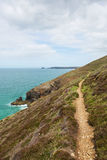 South West Coast Path south of Perranporth North Cornwall England UK Stock Photos