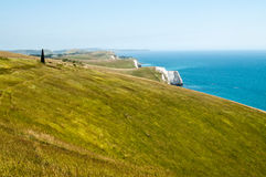 South West Coastal Path, Dorset Royalty Free Stock Photos