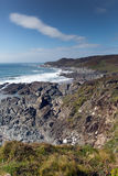South West Coastal Path Woolacombe Devon Royalty Free Stock Photo