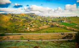 South-west region of Sicily Royalty Free Stock Photo