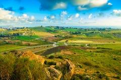 South-west Sicily Stock Photos