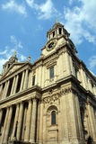 The South Western Corner of St Paul's Cathedral, London. Stock Image