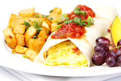 South western omelette Stock Image