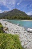 South Westland World Heritage area, Haast, New Zealand. Stock Images