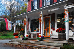 South Woodstock General Store. The South Woodstock General Store attracts local and tourist customers to this small New England town Stock Image