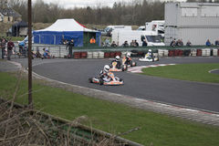South Yorkshire Kart Club SYKC Race Meeting on 12th March 2017 Stock Photos