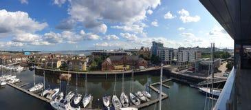 Southampton HarBar View royalty free stock image