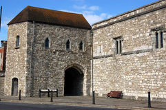 Southampton Town Walls Royalty Free Stock Photography