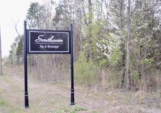 Southaven, Mississippi el condado de Desoto imagenes de archivo