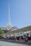 Southbank星期天市场,墨尔本,澳大利亚 库存照片