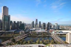 Southbank à Melbourne Image libre de droits