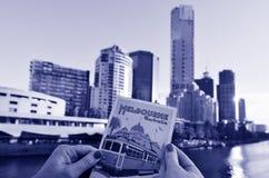 Μελβούρνη Southbank - Βικτώρια Στοκ φωτογραφία με δικαίωμα ελεύθερης χρήσης