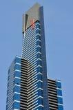 尤里卡Southbank墨尔本的塔关闭 库存图片