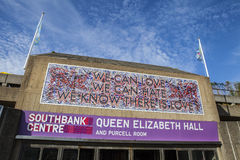Southbank Centre in London Stock Photography