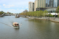 Southbank, formerly an industrial area, is an inner urban neighbourhood of Melbourne Stock Image