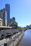 Southbank Melbourne and Yarra river Stock Photo
