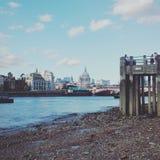 Southbank. And Thames Stock Image