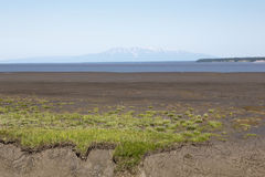 Southcentral Alaska's Mount Susitna Royalty Free Stock Photography