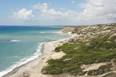 Southcoast of Cyprus, Europe Royalty Free Stock Images