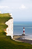 Southdowns. Shot of the lighthouse by south downs Royalty Free Stock Photography
