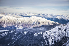Southeast Alaska Mountains Royalty Free Stock Photography