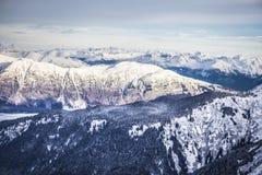 Southeast Alaska Mountains Royalty Free Stock Photography