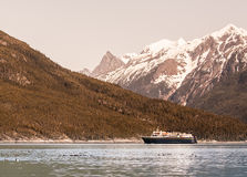Southeast Alaskan Ferry Stock Images