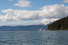 Southeast Alaskan Fishing Trawler Royalty Free Stock Photos