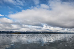 Southeast Alaskan Scenery Stock Photography