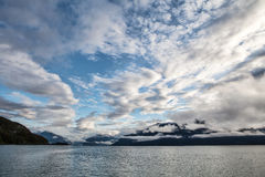 Southeast Alaskan Sunrise Royalty Free Stock Photography