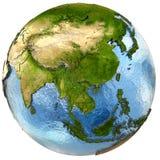 Southeast Asia on Earth Stock Photos