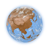 Southeast Asia on planet Earth Royalty Free Stock Photo
