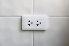 Southeast Asia power outlet Royalty Free Stock Photo