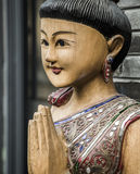 Southeast Asian Buddhist culture Stock Image