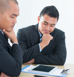 Southeast Asian business people discussion Royalty Free Stock Photo