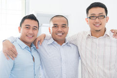 Southeast Asian business team Royalty Free Stock Images