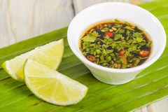 Southeast Asian Dipping Sauce Stock Image