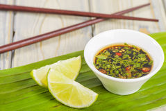 Southeast Asian Dipping Sauce Stock Images