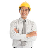 Southeast Asian engineer Royalty Free Stock Photography