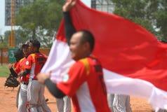 Southeast Asian Games in Palembang Stock Photos