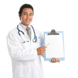 Southeast Asian medical doctor Royalty Free Stock Image