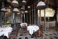 Southeast Asian-style restaurant Stock Photo