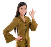 Southeast Asian woman Stock Photography