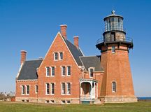 Southeast Light, Block Island, RI Stock Photos