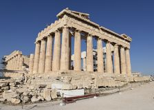 Southeast View of the Parthenon Royalty Free Stock Photo