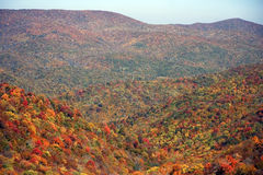 Southeastern Tennessee. View from Cherohala Scenic Skyway, Southeastern Tennessee royalty free stock images