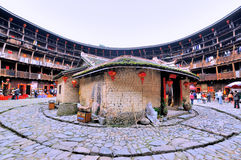 Southen中国传统住所,地球城堡 免版税库存图片
