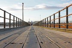 Southend在海运码头,艾塞克斯,英国 免版税图库摄影