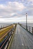 Southend在海运码头,艾塞克斯,英国 库存图片